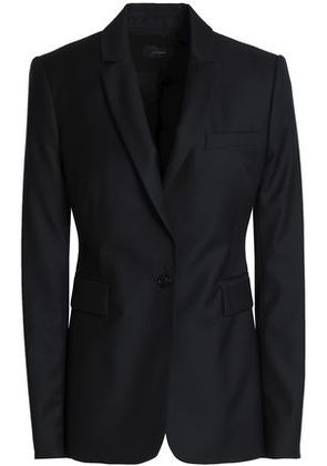 Joseph Woman Wool-twill Blazer Midnight Blue Size 36