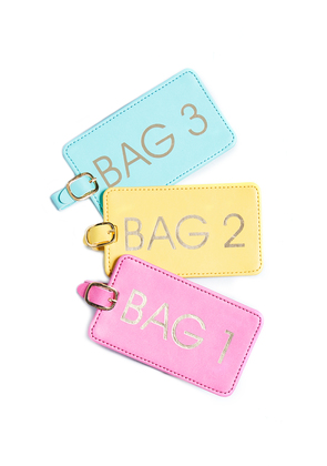 Gift Boutique Bags 1-2-3 Luggage Tag Box Set