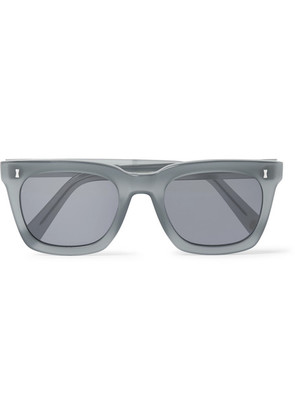Cubitts - Judd Square-frame Acetate Sunglasses - Gray
