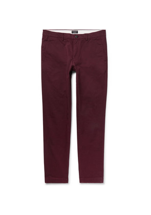 Connor Slim-fit Cotton-blend Twill Chinos