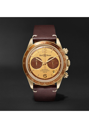 + Revolution Bellytanker Chronograph 41mm Stainless Steel And Leather Watch