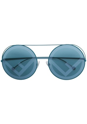 Fendi Eyewear Run Away sunglasses - Blue