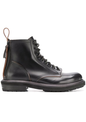 Buttero lace-up boots - Black