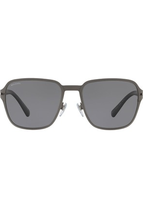 Bulgari square shaped sunglasses - Grey