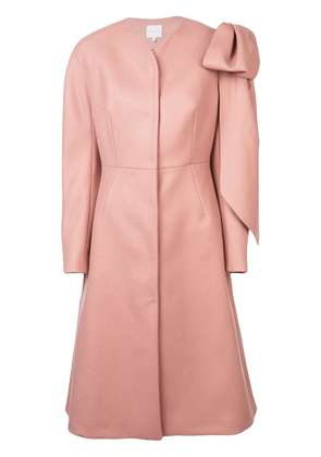 Delpozo single breasted coat - Brown