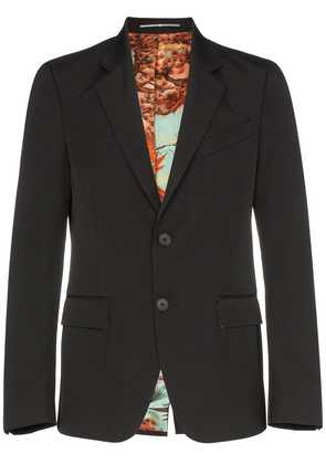 Givenchy lined button up blazer jacket - Black