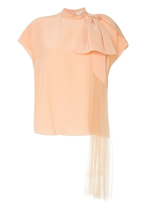 Delpozo bow detail blouse - Pink