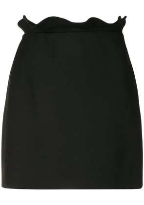 Valentino frill trim mini skirt - Black