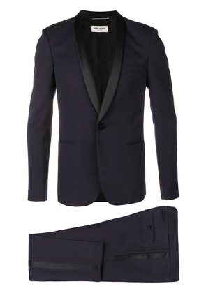 Saint Laurent tailored formal suit - Blue