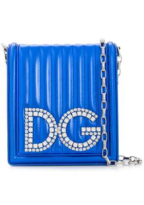 Dolce & Gabbana DG Girls crossbody bag - Blue