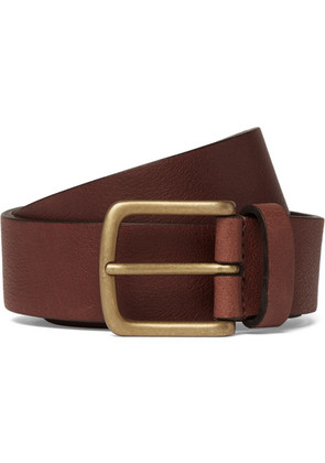 Anderson's - 3cm Brown Textured-leather Belt - Brown