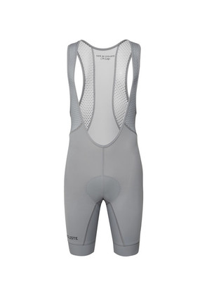 Cafe du Cycliste - Marinette Mesh-panelled Cycling Bib Shorts - Gray