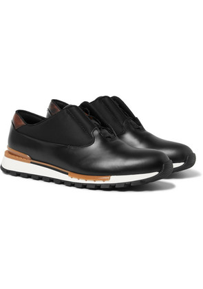 Fast Track Tornio Leather And Shell Sneakers
