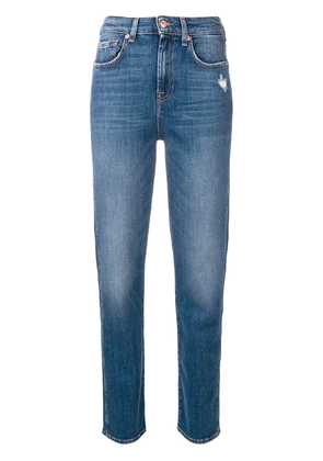 7 For All Mankind high rise jeans - Blue