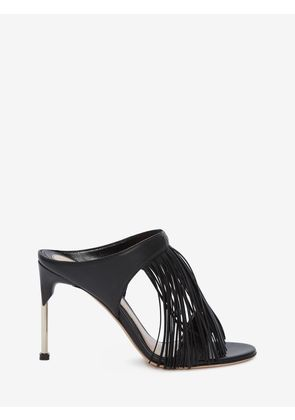 ALEXANDER MCQUEEN PIN HEEL SANDALS - Item 11580468