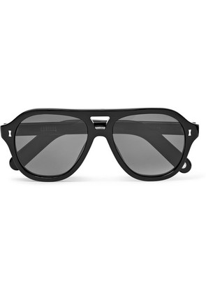 Cubitts - Penton Aviator-style Acetate Sunglasses - Black