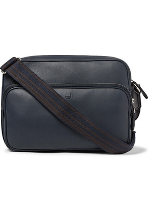 Dunhill - Hampstead City Leather Messenger Bag - Navy