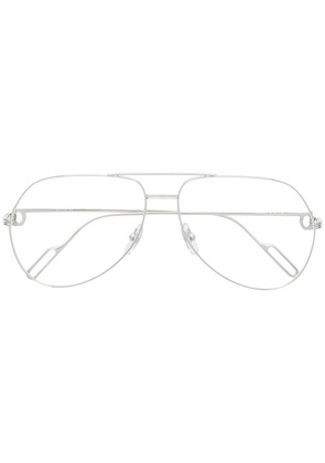 Cartier aviator glasses - Silver
