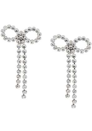 Ca & Lou Louise bow earrings - Silver