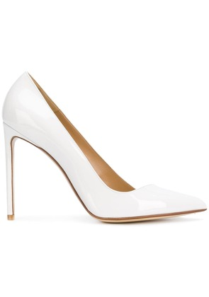 Francesco Russo pointed toe pumps - White