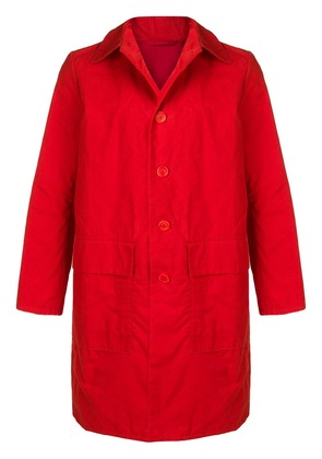 Casey Casey single-breasted coat - Red