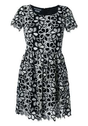 Boutique Moschino fit and flare mini dress - Black