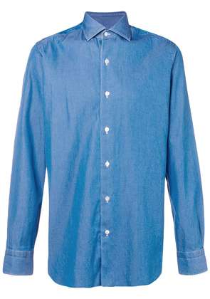 Barba slim fit shirt - Blue