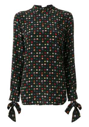 Equipment floral embroidered blouse - Multicolour