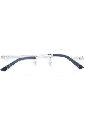 Cartier Santos de Cartier glasses - Metallic