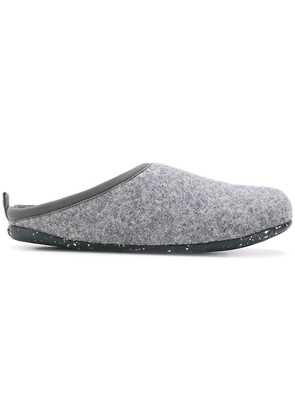 Camper round toe slippers - Grey