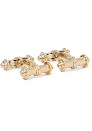Deakin & Francis - Dumbbell Gold-plated Cufflinks - Gold