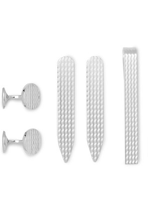 Deakin & Francis - Sterling Silver Evening Accessories Set - Silver