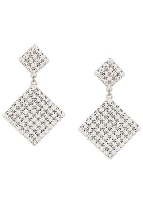 Alessandra Rich Faba drop earrings - Metallic