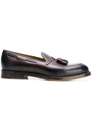 Doucal's tassel loafers - Brown