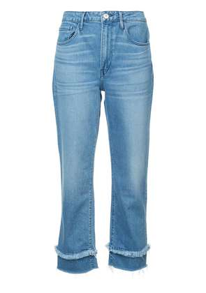 3x1 faded cropped jeans - Blue