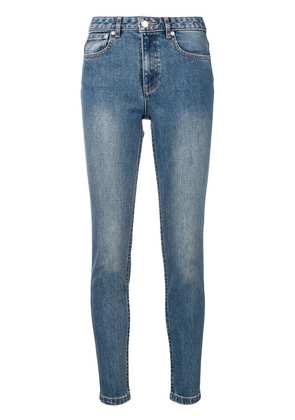 A.P.C. washed skinny jeans - Blue