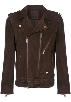 Desa 1972 belted motor jacket - Brown