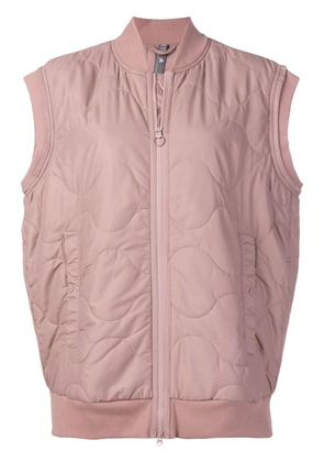 Adidas By Stella Mccartney Yoga quilted shell jacket - Pink