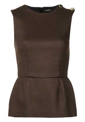 Adam Lippes double face top - Brown