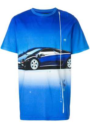 Blood Brother Droptop T-shirt - Blue