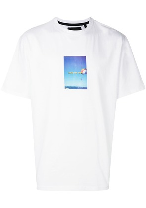 Blood Brother oversized photo print T-shirt - White