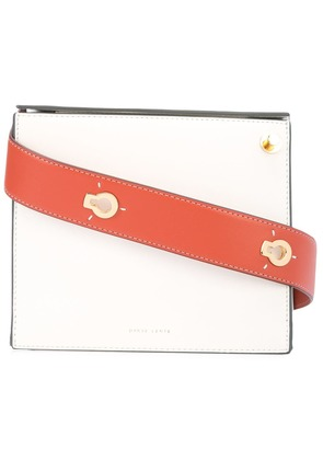 Danse Lente Brick crossbody bag - White