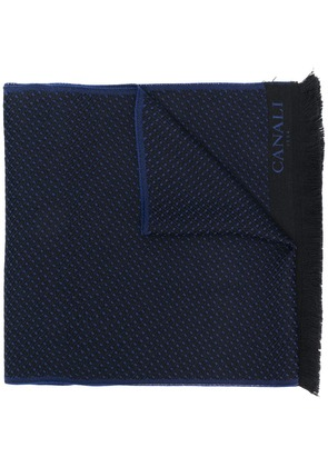 Canali dotted scarf - Blue