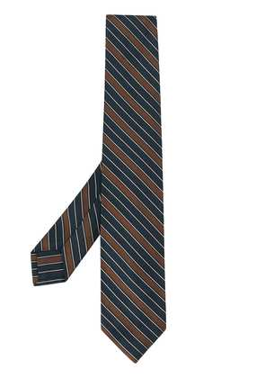 Barba striped bow tie - Blue
