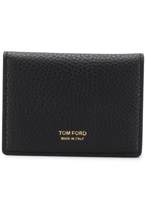 Tom Ford textured leather wallet - Black