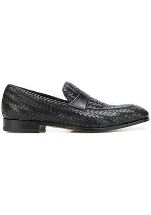 Dell'oglio woven loafers - Black