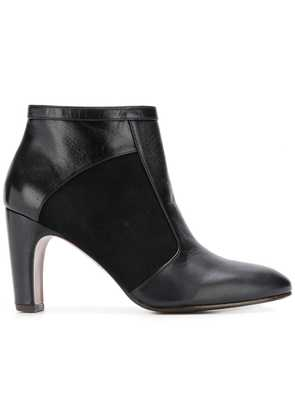 Chie Mihara two tone boots - Black