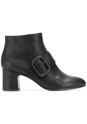 Chie Mihara buckled ankle boots - Black