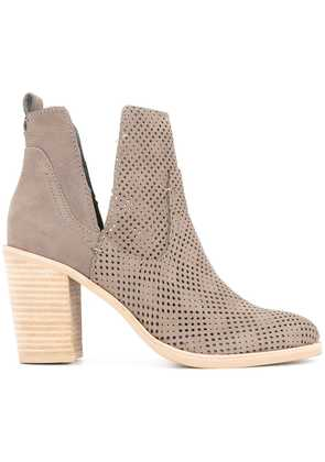 Dolce Vita cut out ankle boots - Brown