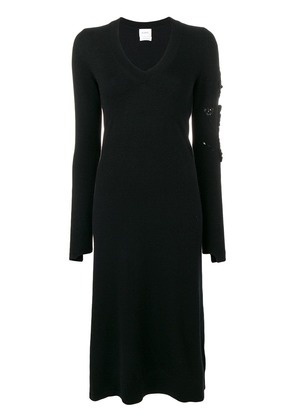 Barrie midi sweater dress - Black